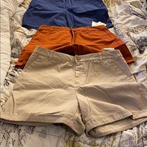 Forever 21 Pleated Shorts Size Medium